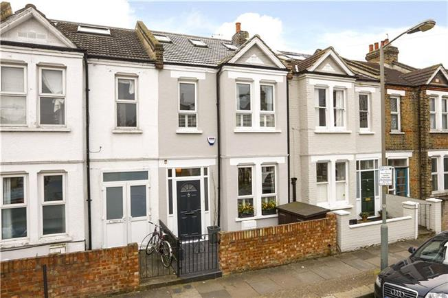 Asking Price £825,000, 3 Bedroom Terraced House For Sale in London, SW18