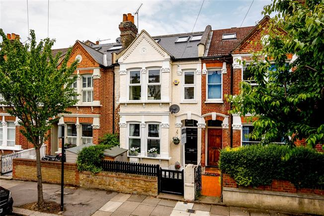 Asking Price £875,000, 4 Bedroom Terraced House For Sale in London, SW17