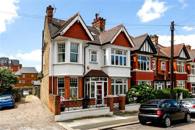 Guide Price £1,350,000, 4 Bedroom Semi Detached House For Sale in London, SW19