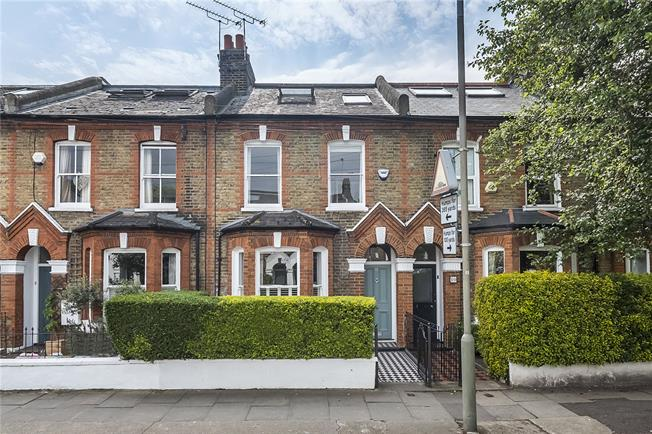 Asking Price £1,125,000, 4 Bedroom Terraced House For Sale in London, SW18