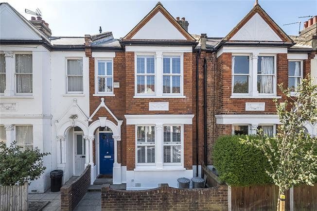 Asking Price £995,000, 3 Bedroom Terraced House For Sale in London, SW18