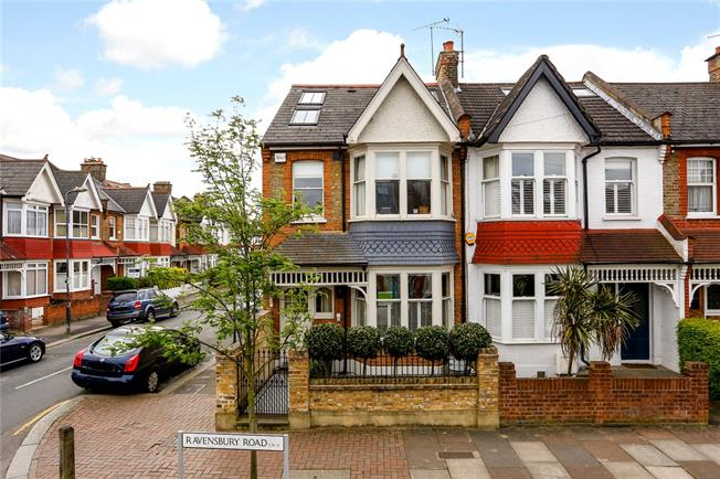 Asking Price £1,150,000, 3 Bedroom End of Terrace House For Sale in London, SW18