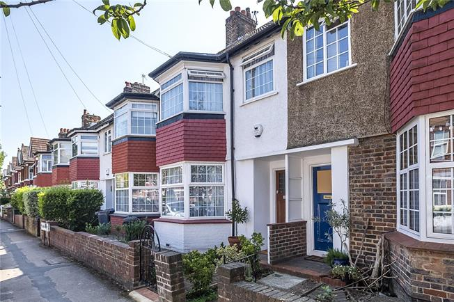 Asking Price £995,000, 3 Bedroom Terraced House For Sale in London, SW19