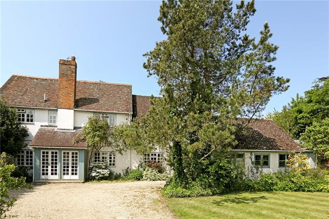Guide Price £1,150,000, 4 Bedroom Detached House For Sale in Marsh Baldon, OX44