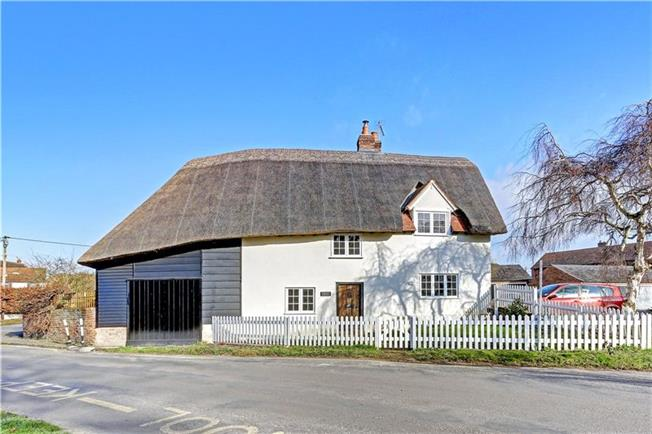 Guide Price £650,000, 3 Bedroom Detached House For Sale in East Hagbourne, OX11