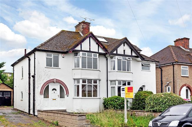 Asking Price £430,000, 3 Bedroom Semi Detached House For Sale in Oxford, Oxfordshire, OX3