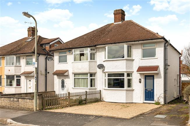 Guide Price £475,000, 3 Bedroom Semi Detached House For Sale in Headington, OX3
