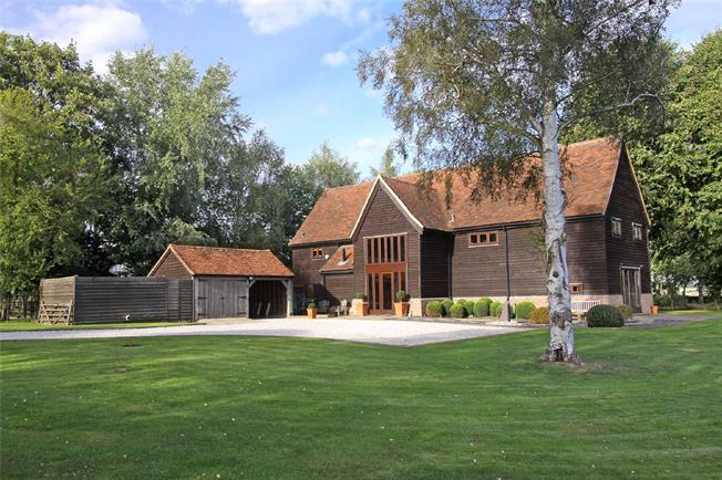 Guide Price £1,650,000, 5 Bedroom Detached House For Sale in Whitwell, SG4