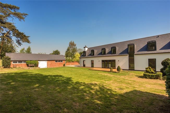 Guide Price £1,150,000, 4 Bedroom Detached House For Sale in Whitwell, SG4