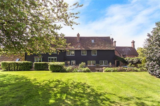Guide Price £1,700,000, 4 Bedroom House For Sale in Hertfordshire, SG4