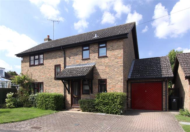 Guide Price £675,000, 4 Bedroom Detached House For Sale in Sandridge, AL4