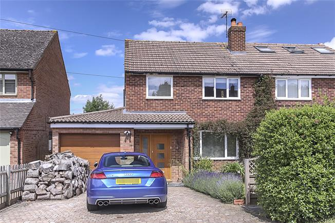 Guide Price £625,000, 3 Bedroom Semi Detached House For Sale in Wheathampstead, AL4