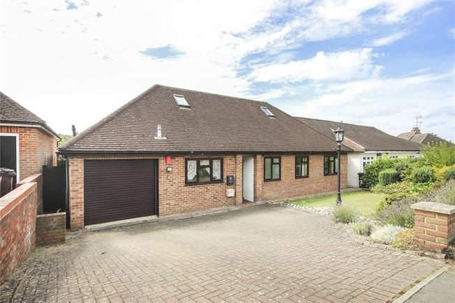 Guide Price £575,000, 3 Bedroom Bungalow For Sale in Wheathampstead, AL4