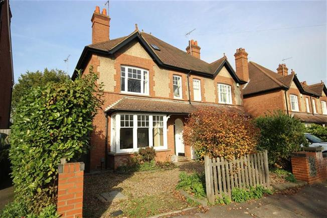 Guide Price £1,175,000, 5 Bedroom Semi Detached House For Sale in Harpenden, Hertfordshire, AL5