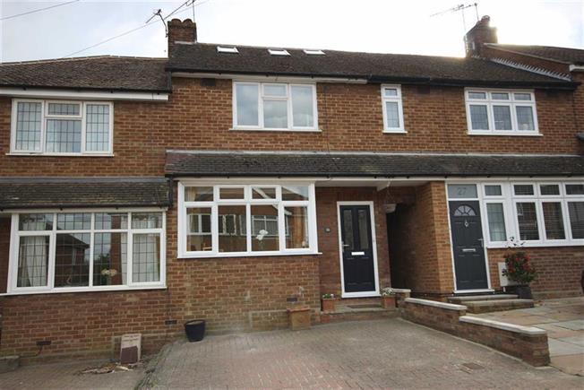 Guide Price £550,000, 3 Bedroom Terraced House For Sale in Harpenden, AL5