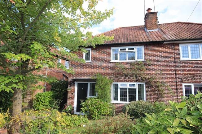 Asking Price £725,000, 3 Bedroom Semi Detached House For Sale in Harpenden, AL5