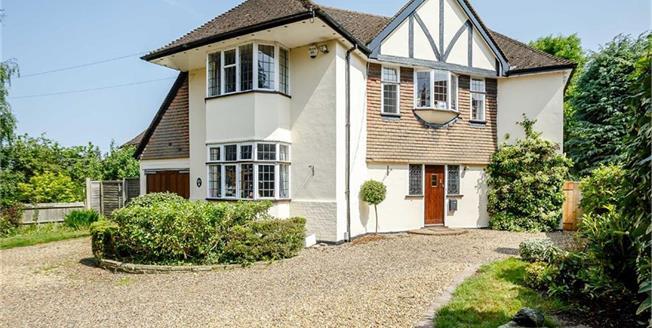 Guide Price £1,350,000, 4 Bedroom Detached House For Sale in Harpenden, Hertfordshire, AL5