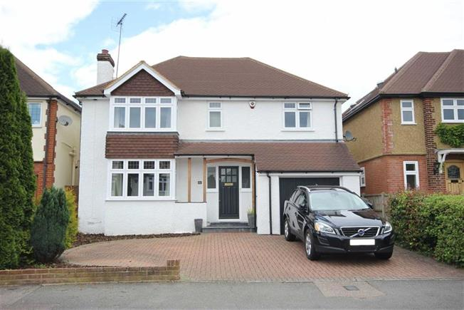 Asking Price £1,150,000, 4 Bedroom Detached House For Sale in Harpenden, Hertfordshire, AL5