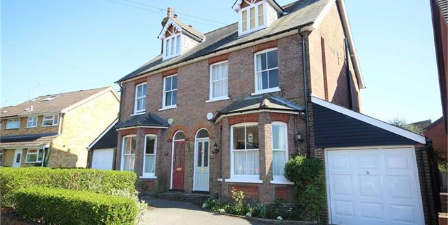 Guide Price £1,100,000, 5 Bedroom Semi Detached House For Sale in Harpenden, Hertfordshire, AL5