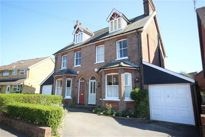 Guide Price £1,100,000, 5 Bedroom Semi Detached House For Sale in Harpenden, Hertfordshire, AL5