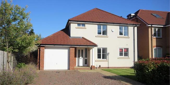 Guide Price £995,000, 4 Bedroom Detached House For Sale in Harpenden, Hertfordshire, AL5