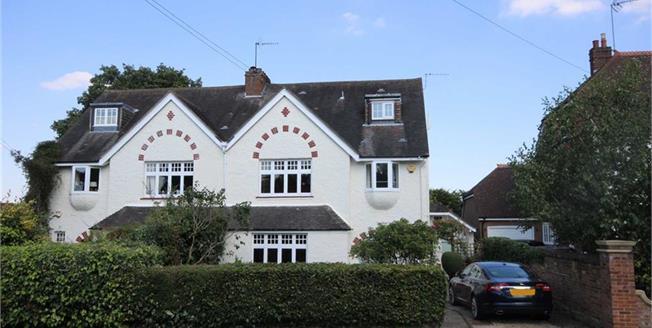 Asking Price £1,575,000, 5 Bedroom Semi Detached House For Sale in Harpenden, Hertfordshire, AL5