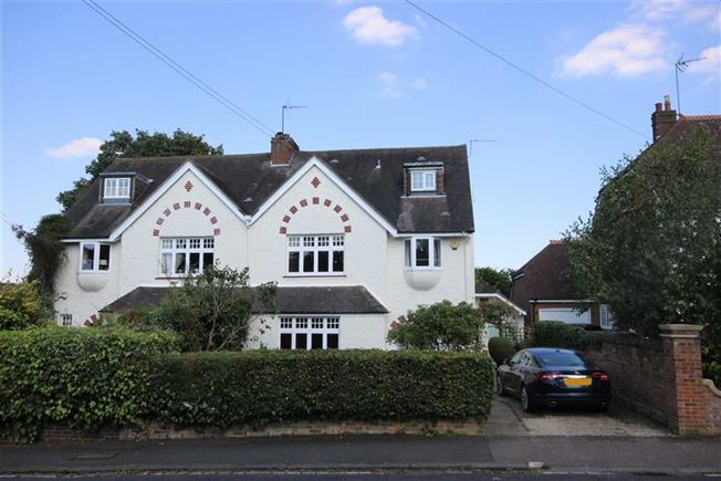 Asking Price £1,575,000, 5 Bedroom Semi Detached House For Sale in Harpenden, Hertfordshire, AL5