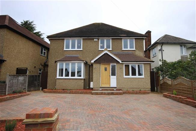 Guide Price £1,345,000, 5 Bedroom Detached House For Sale in Harpenden, AL5