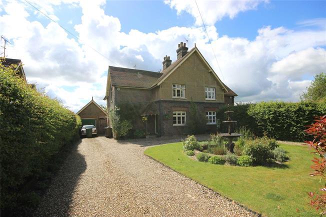 Guide Price £995,000, 3 Bedroom Semi Detached House For Sale in Harpenden, Hertfordshire, AL5