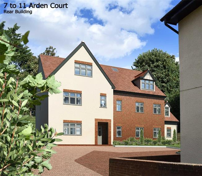 Guide Price £850,000, 2 Bedroom Flat For Sale in Harpenden, Hertfordshire, AL5