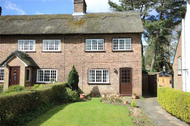 Guide Price £475,000, 2 Bedroom End of Terrace House For Sale in Harpenden, AL5
