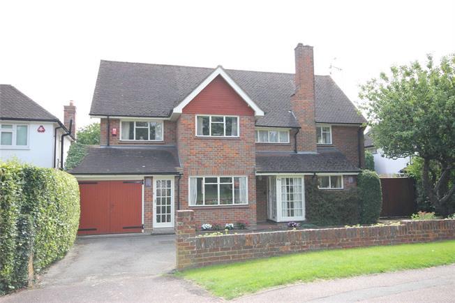Guide Price £1,400,000, 5 Bedroom Detached House For Sale in Harpenden, Hertfordshire, AL5