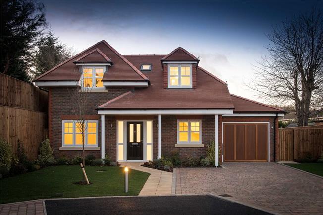 Guide Price £1,195,000, 4 Bedroom Detached House For Sale in Harpenden, Hertfordshire, AL5
