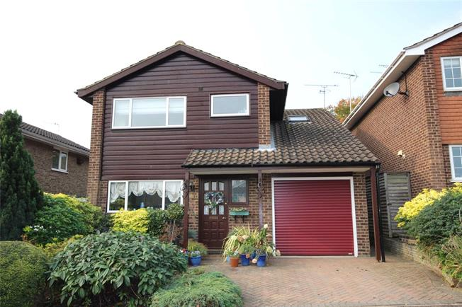 Guide Price £625,000, 4 Bedroom Detached House For Sale in Harpenden, Hertfordshire, AL5