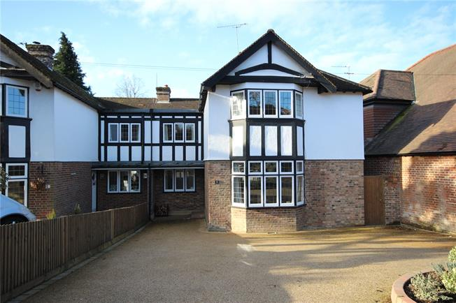 Guide Price £1,175,000, 4 Bedroom Semi Detached House For Sale in Harpenden, Hertfordshire, AL5