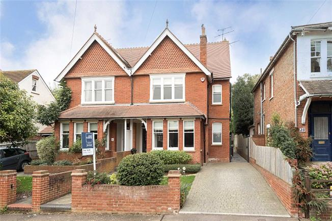 Guide Price £1,425,000, 5 Bedroom Semi Detached House For Sale in Harpenden, Hertfordshire, AL5