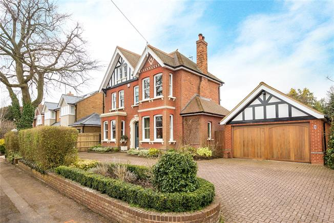 Guide Price £2,495,000, 6 Bedroom Detached House For Sale in Hertfordshire, AL5