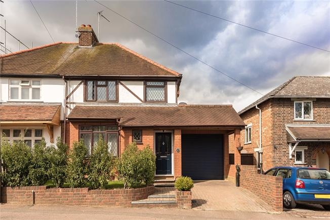 Asking Price £775,000, 3 Bedroom Semi Detached House For Sale in Harpenden, AL5
