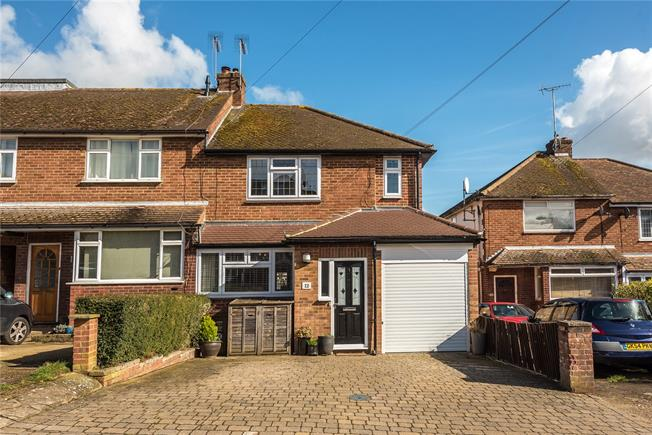 Guide Price £675,000, 3 Bedroom End of Terrace House For Sale in Harpenden, AL5