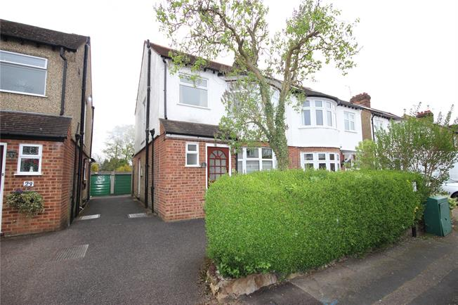 Offers in excess of £700,000, 3 Bedroom Semi Detached House For Sale in Hertfordshire, AL5