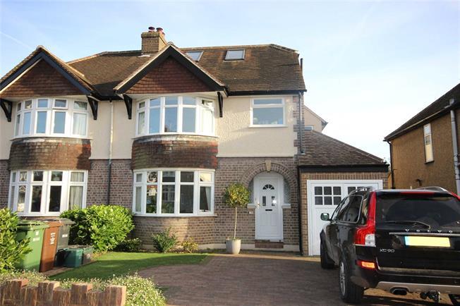 Asking Price £965,000, 4 Bedroom Semi Detached House For Sale in Harpenden, Hertfordshire, AL5
