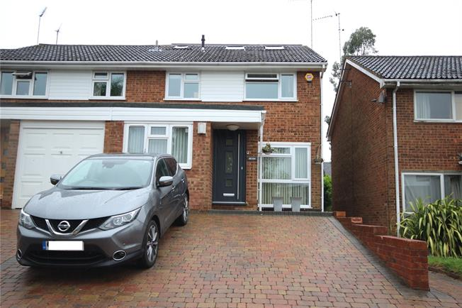 Guide Price £650,000, 4 Bedroom Semi Detached House For Sale in Harpenden, AL5