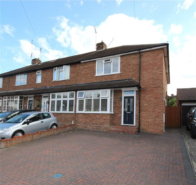 Guide Price £650,000, 3 Bedroom End of Terrace House For Sale in Hertfordshire, AL5