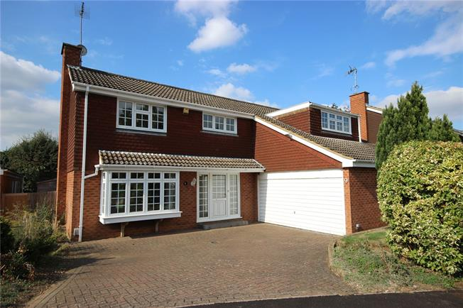 Guide Price £995,950, 5 Bedroom Detached House For Sale in Harpenden, AL5