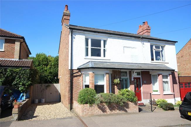 Asking Price £550,000, 2 Bedroom Semi Detached House For Sale in Hertfordshire, AL5