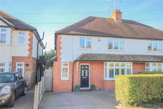 Asking Price £895,000, 4 Bedroom Semi Detached House For Sale in Harpenden, AL5