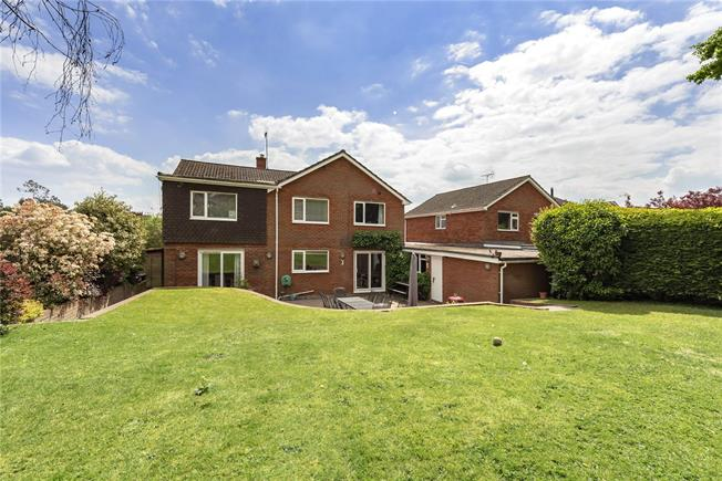 Guide Price £1,299,500, 5 Bedroom Detached House For Sale in Harpenden, AL5