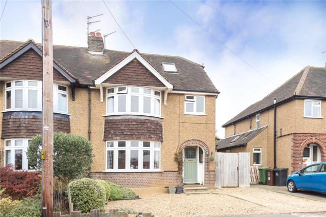 Guide Price £875,000, 4 Bedroom Semi Detached House For Sale in Harpenden, AL5