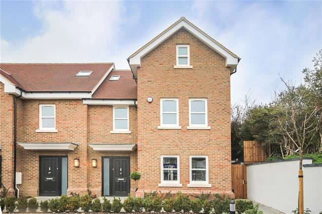 Guide Price £875,000, 4 Bedroom End of Terrace House For Sale in Harpenden, Hertfordshire, AL5