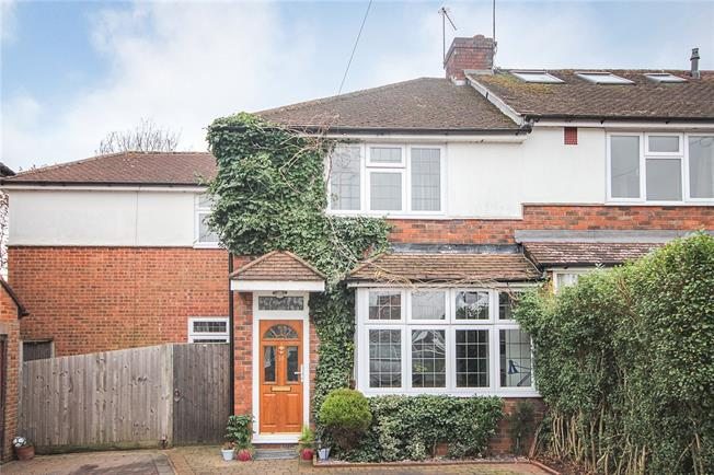Guide Price £575,000, 3 Bedroom End of Terrace House For Sale in Hertfordshire, AL5